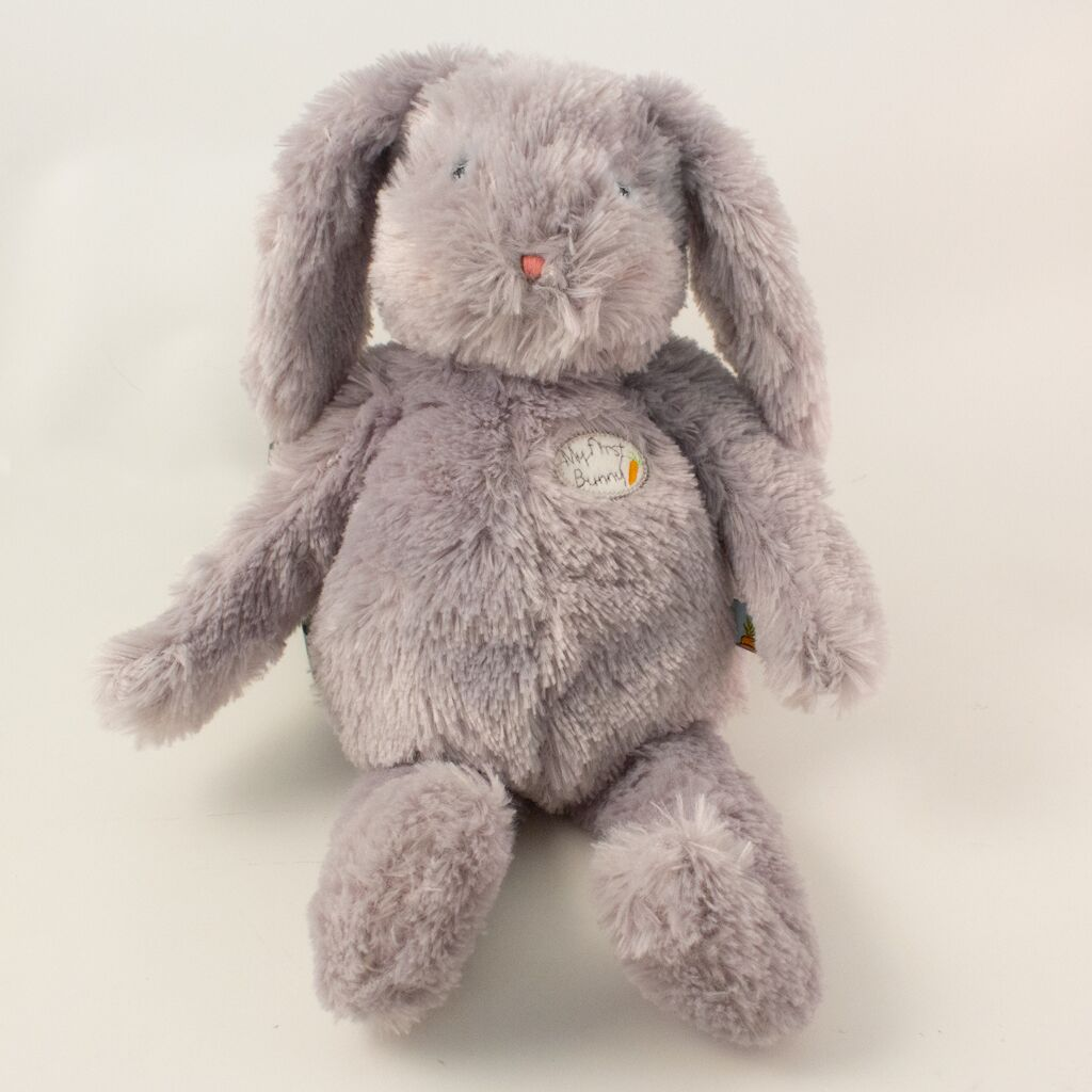 [product-color] My First Bunny Light Grey - Carrots® Collection a from Bunnies By the Bay: -843584017381-100868