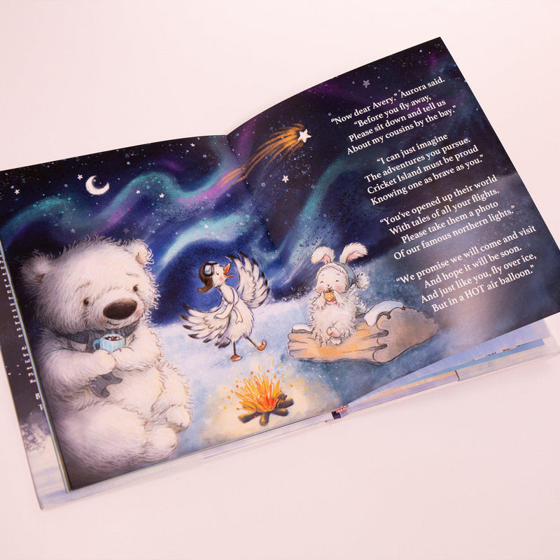 Avery the Aviator Braves the Arctic Storybook-Avery the Aviator-SKU: 106017 - Bunnies By The Bay