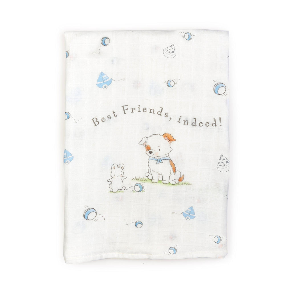 [product-color] Have a Ball Swaddle Blanket a Swaddle Blanket from Bunnies By The Bay: -843584014724-100735