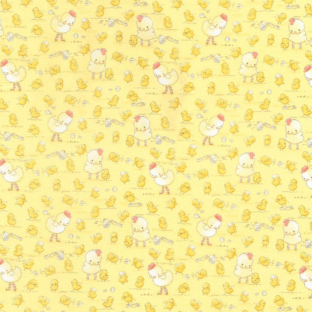 Fabric - Good Friends Farm Collection - Farm Chickens & Chicks - 1/4 yd