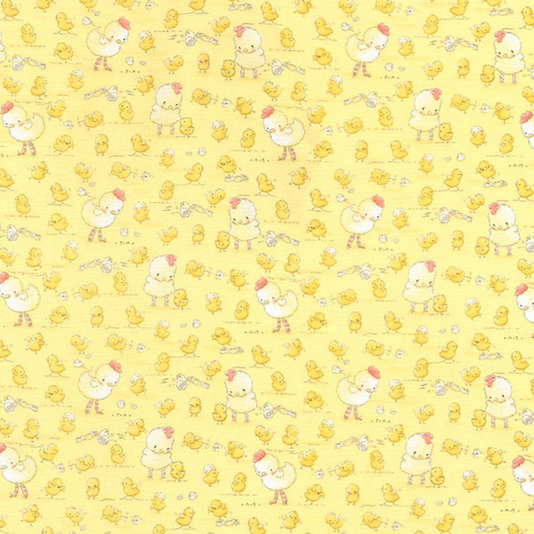 Image of Fabric - Good Friends Farm Collection - Farm Chickens & Chicks - 1/4 yd-Fabric-Bunnies By the Bay-bbtbay