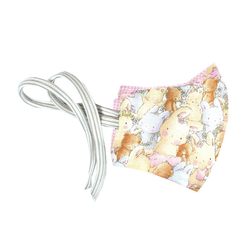 Child Cloth Face Mask - Mixed Bunnies-Face Mask-SKU: - Bunnies By The Bay