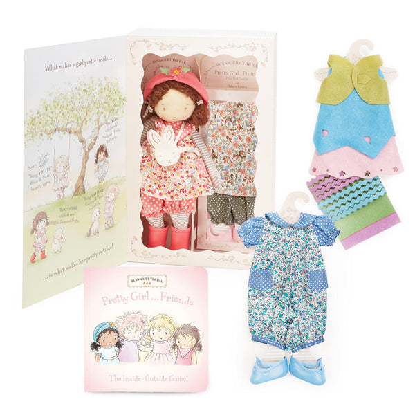 Daisy Girl Friend Doll and Book Gift Set-Gift Set-SKU: 101003 - Bunnies By The Bay