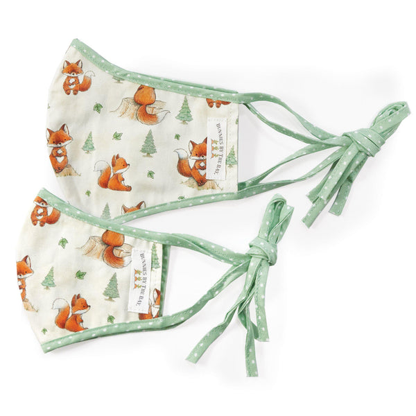 Foxy Mommy and Me Face Mask Set-Face Mask-SKU: 102158 - Bunnies By The Bay