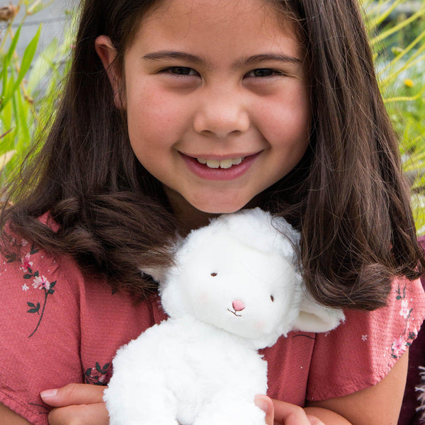 Kiddo the Lamb-Stuffed Animal-SKU: 270029 - Bunnies By The Bay