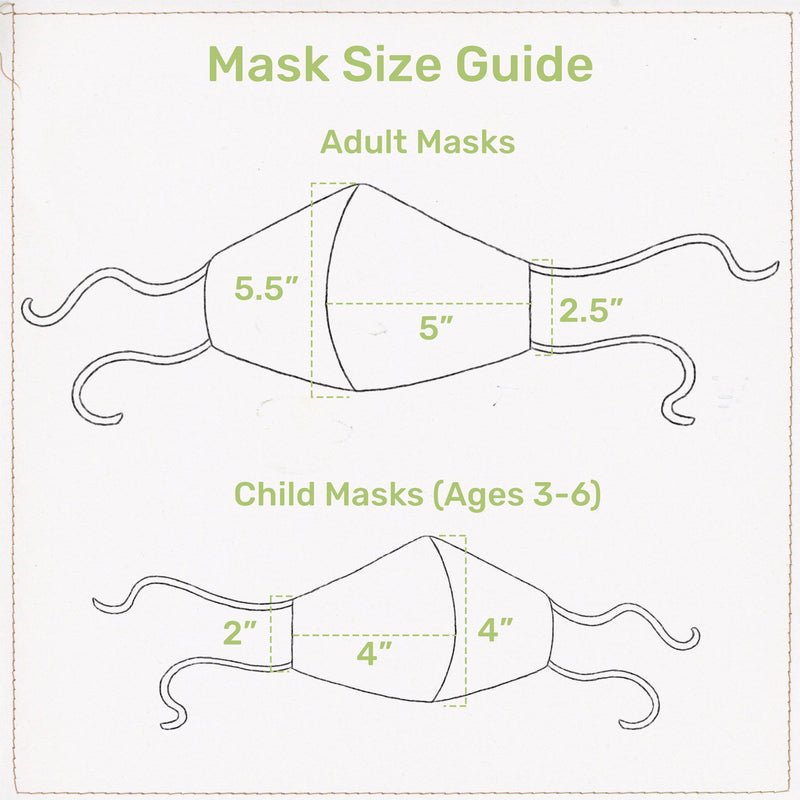 Blossom Bunny Cloth Face Mask for Adults and Kids-Blossom Bunny-SKU: - Bunnies By The Bay