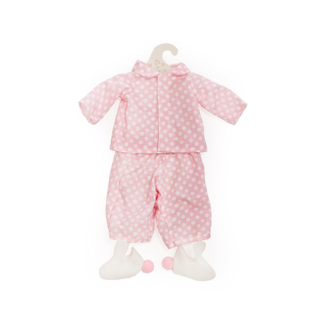 [product-color] Hoppy Pink Jammies - Doll Clothes a from Bunnies By The Bay: -843584018364-100949
