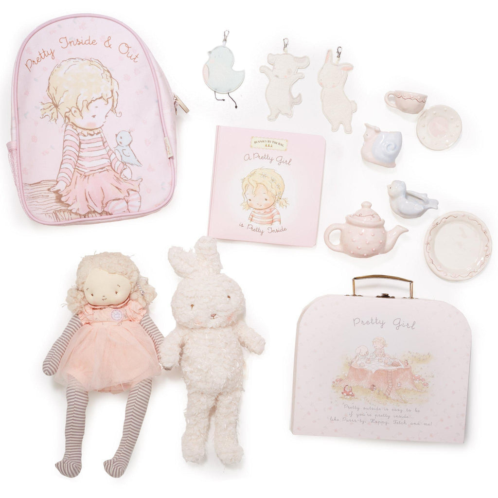 Image of Pretty Girl Tea Party To Go Gift Set-gift set-Bunnies By The Bay-bbtbay