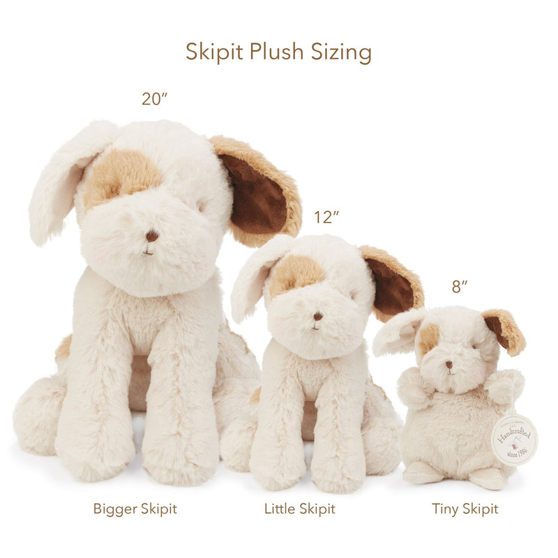 "Bigger Skipit 20"" Pup-Stuffed Puppy-Bunnies By The Bay"