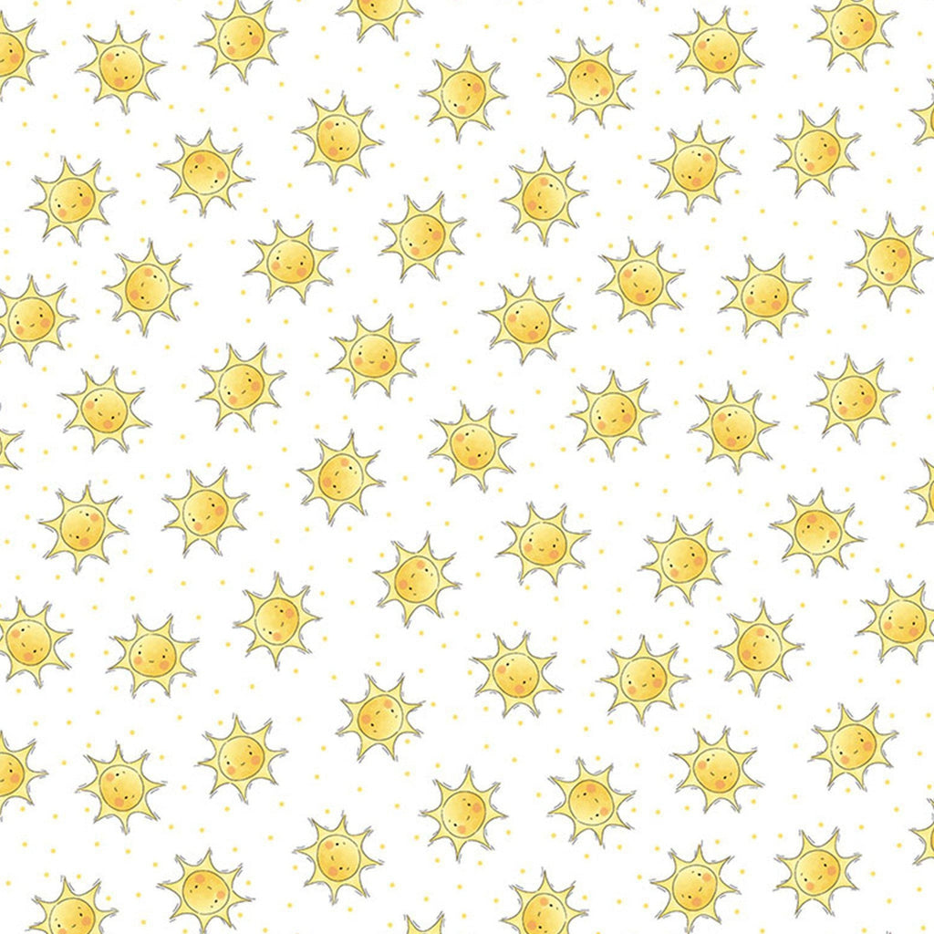 Image of Fabric - Bloom Collection - Sunshine - 1/4 yard-Fabric-Bunnies By The Bay-bbtbay