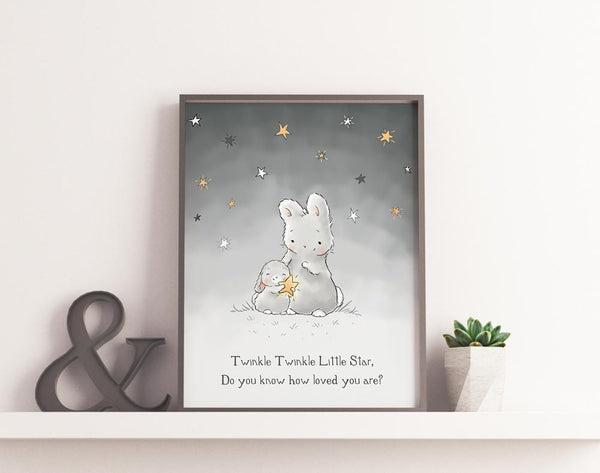 Image of Digital Art: Twinkle Twinkle Little Star-Digital Art-Bunnies By The Bay-bbtbay