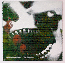 "Load image into Gallery viewer, ""Bad Dreams"" Album Cover Hand Stenciled AP - RISK"