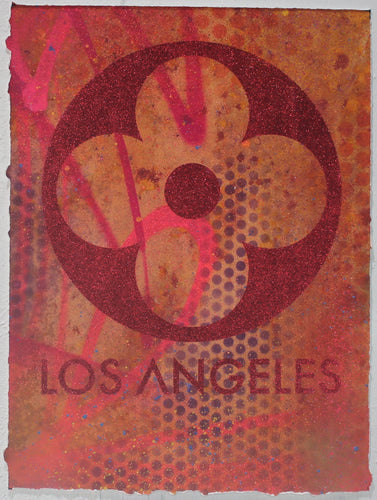 LA Glitter Prints - Risk Rock Shop