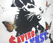 "Load image into Gallery viewer, Saving Banksy ""Butterfly Edition"" - Risk Rock Shop"