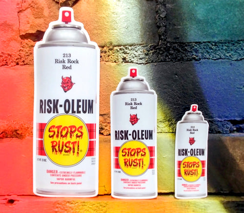 Riskoleum Slap Stickers - Risk Rock Shop