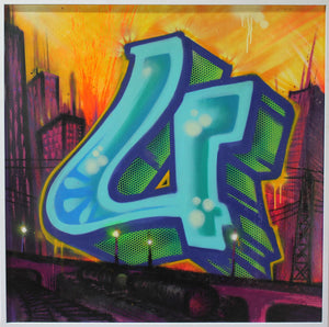 "Title ""U"" - From 2006 ""Twenty Six"" Solo Exhibit LA - RISK"