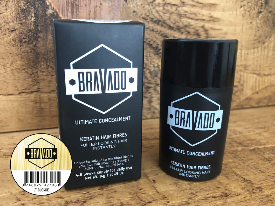 Bravado Hair Fibres - Light Blonde