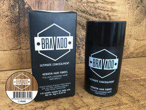 Bravado Hair Fibres - Light Brown