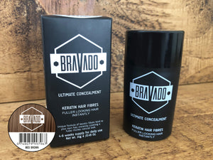 Bravado Hair Fibres - Medium Brown