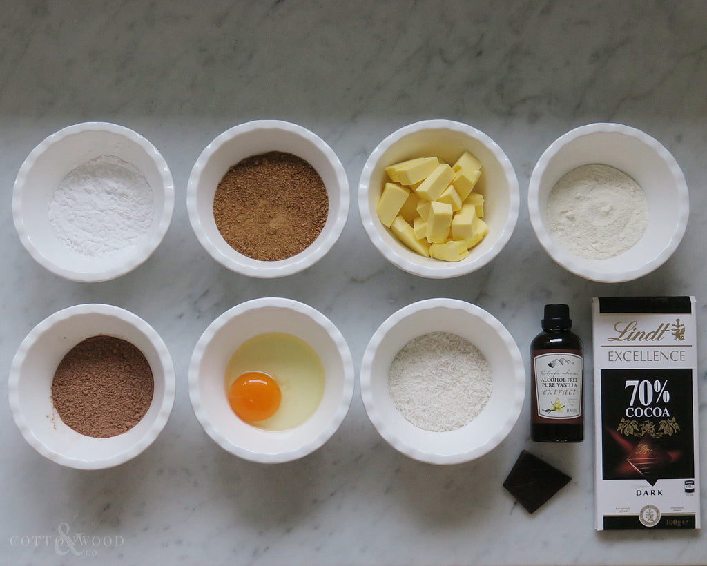 choc chip cookie ingredients