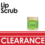 Lime lip scrub