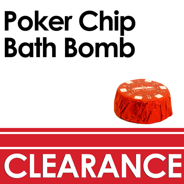 Poker Chip Bath Bomb - BulkBathBomb