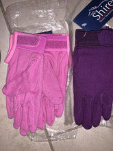 Load image into Gallery viewer, Shires New Pimple Grip Cotton Gloves - Ladies Extra Small