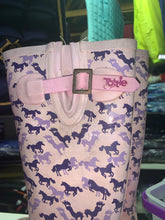 Load image into Gallery viewer, Tottie Pink Horse Print Wellies - Size 2 - Free Delivery 🚚