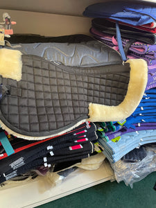 Mark Todd Deluxe Black Half Pad - Full Size