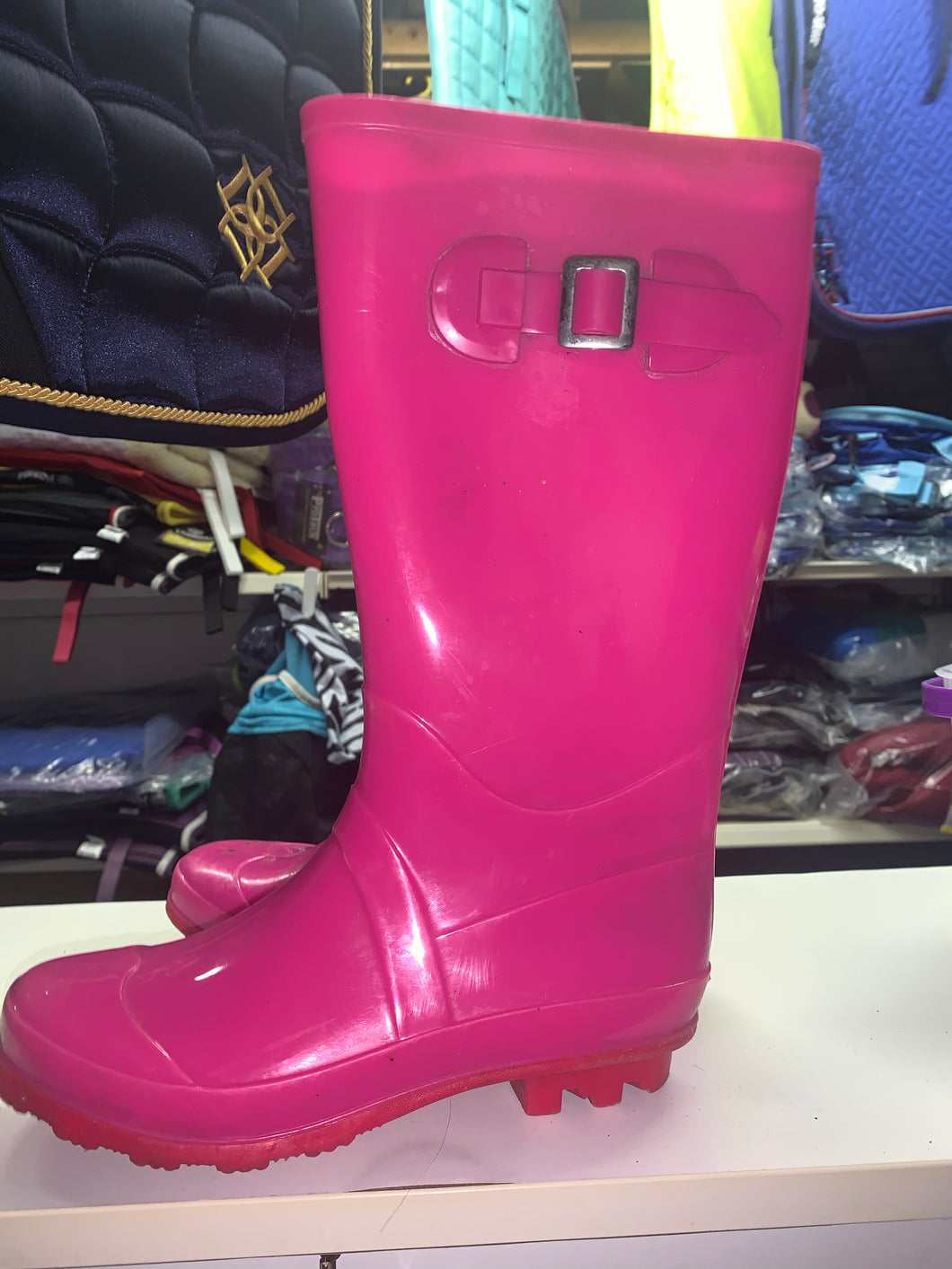 Hot Pink Wellies - Size 3 - Free Delivery 🚚