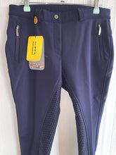 Load image into Gallery viewer, HKM Thermo Lined Silicone Breeches - 30""