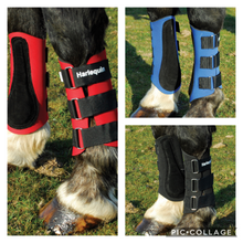 Load image into Gallery viewer, Harlequin Neoprene Brushing Boots - Pony Cob Full