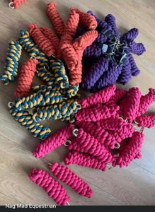 Cotton Leadrope - Various Colours Available