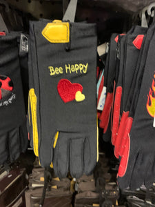Carrots Bee Happy 🐝 Riding Gloves - 5 / 12 Years - Free Delivery 🚚