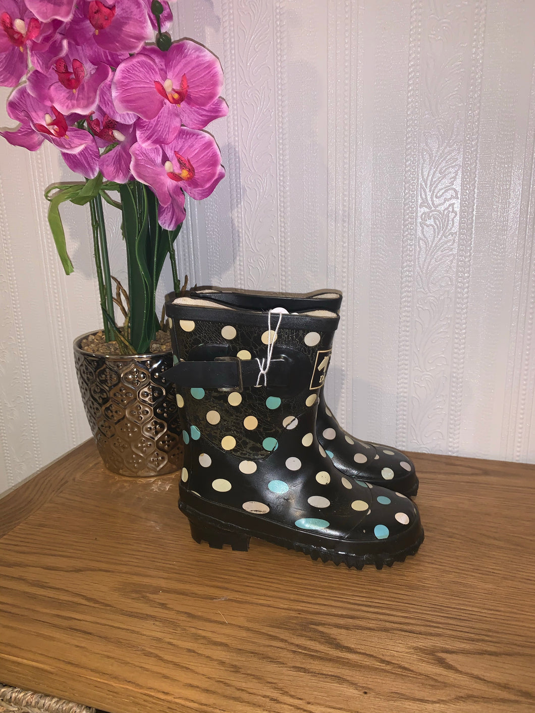 Dublin Spotty Wellies - Size 8 / 26 - Free Delivery 🚚