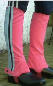Gallop Pink/Blue Washable Chaps - Small to XL