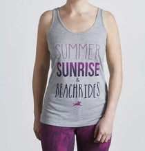 Load image into Gallery viewer, Tottie ' Summer, Sunrise & Beachrides ' Vest - Size 16 - Free Delivery 🚚