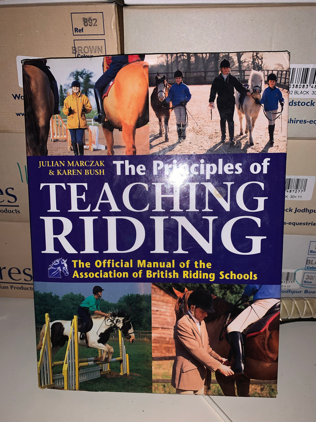 The Principals Of Teaching Riding Book - Full Of Tips & Help
