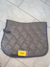 Load image into Gallery viewer, Hkm Olive Saddle Pad - Pony Size - Unisex
