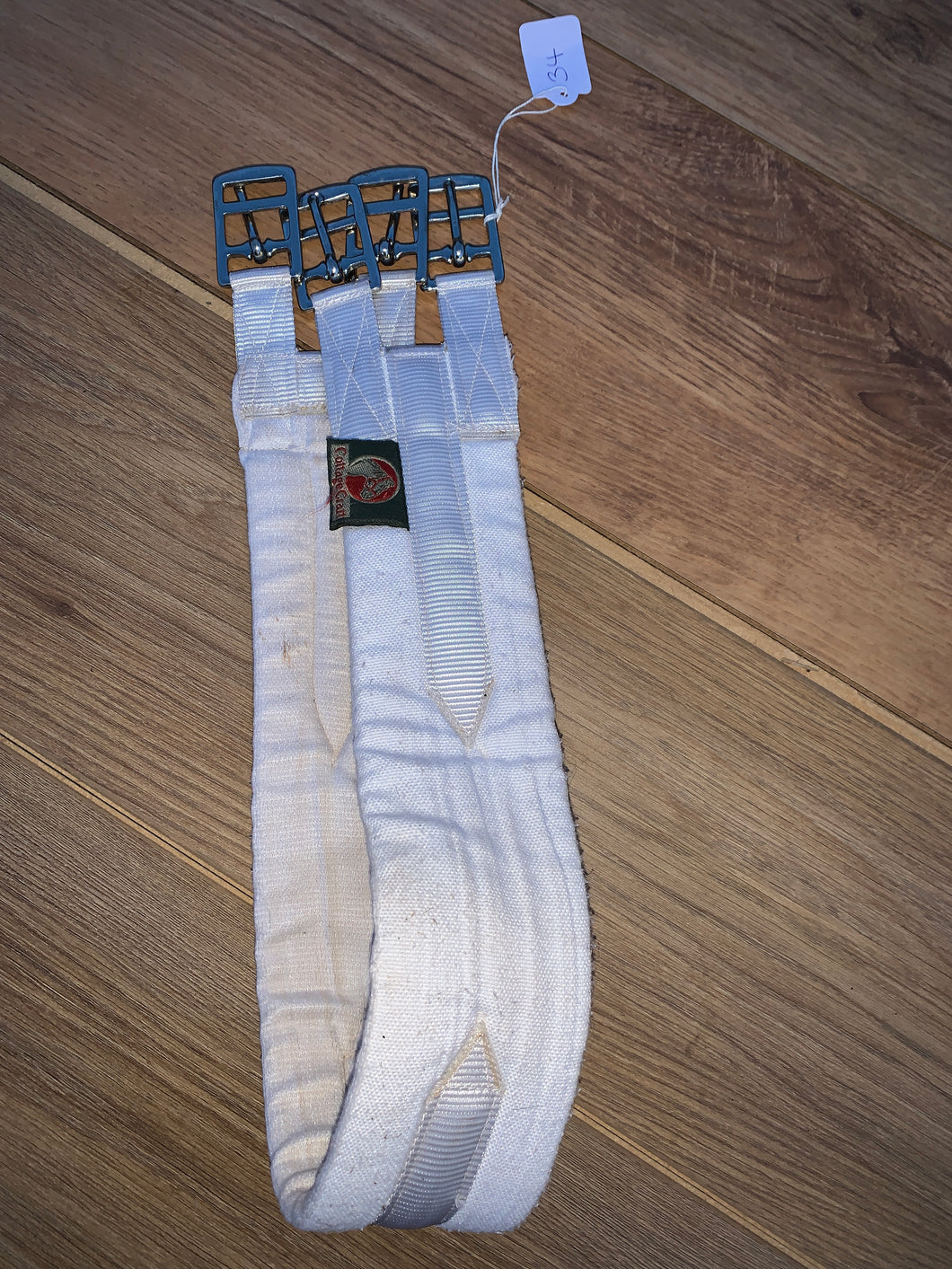 "Cottage Craft White Padded Girth 34"" - Free Delivery"
