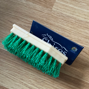 Shires Green or Yellow Hoof Brush