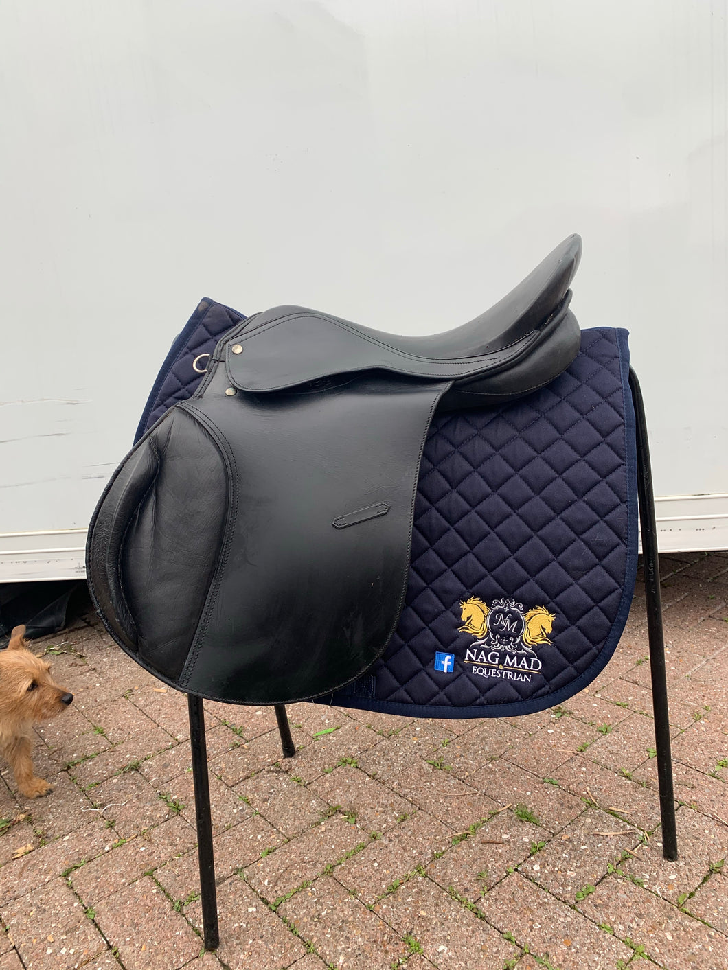 "18"" Jump Saddle - Black - Free Delivery 🚚"