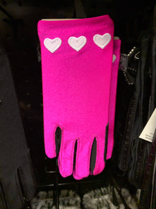 Carrots Pink Hearts Riding Gloves - 5 / 12 Years - Free Delivery 🚚
