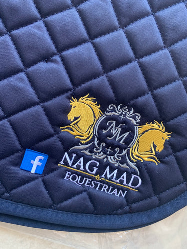 Sponsored Saddle Pads - Embroidered Both Sides!