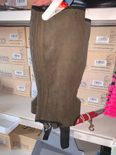 Load image into Gallery viewer, Brown Half Chaps - Small Ladies - Free Delivery 🚚