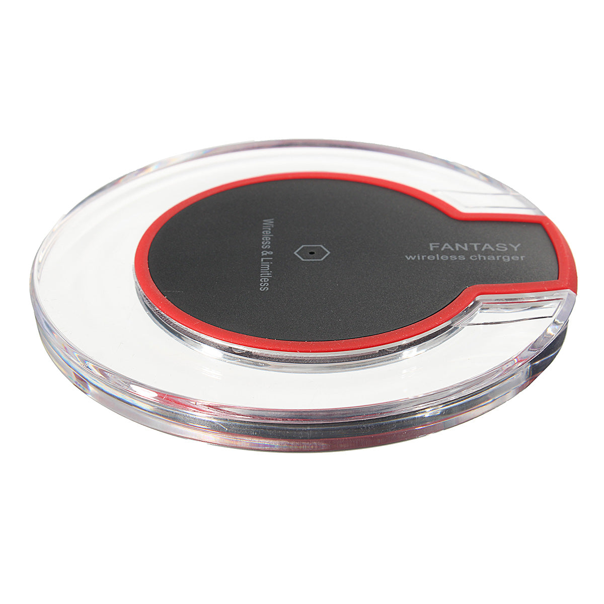 Qi Wireless Fast Charging Desktop Mobile Phone Charger Pad for Samsung S8+ S7 S7 Edge