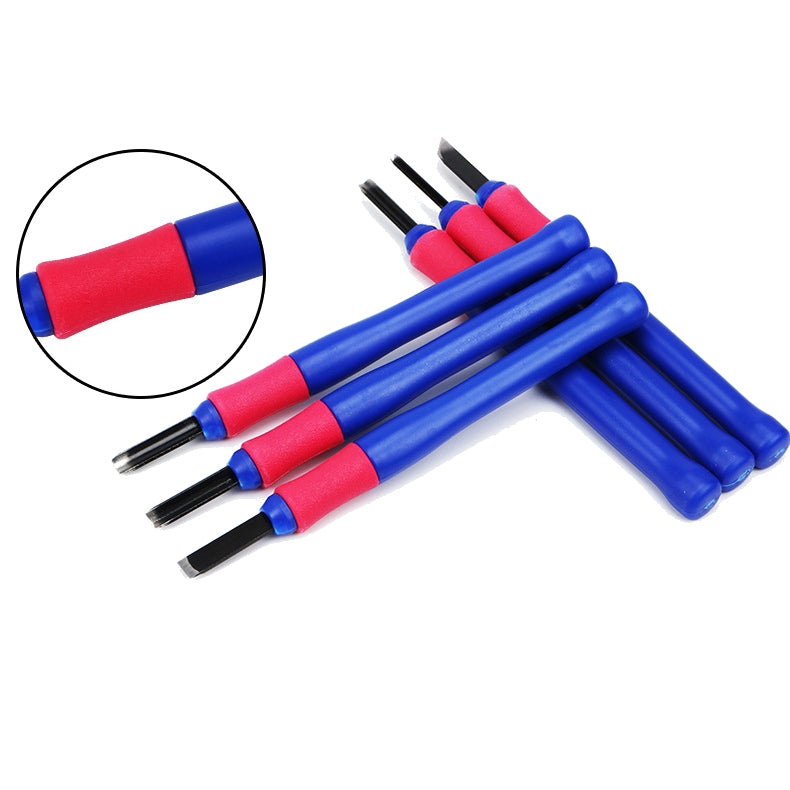 10PCS Hardened Steel Removing Tools Kit For 3D Printer ABS/ PLA Plastic Models