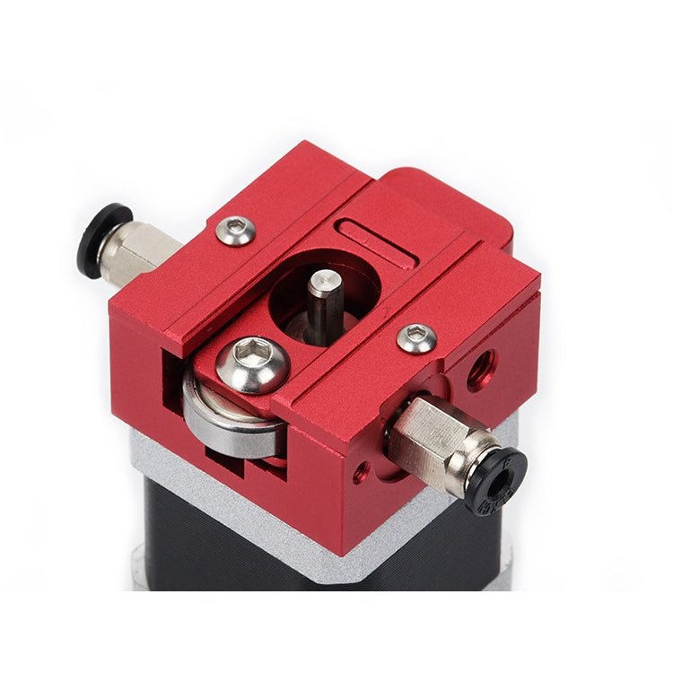 Red DIY Reprap Bulldog All-metal 1.75mm Extruder Compatible J-head MK8 Extruder Remote Proximity For 3D Printer Parts