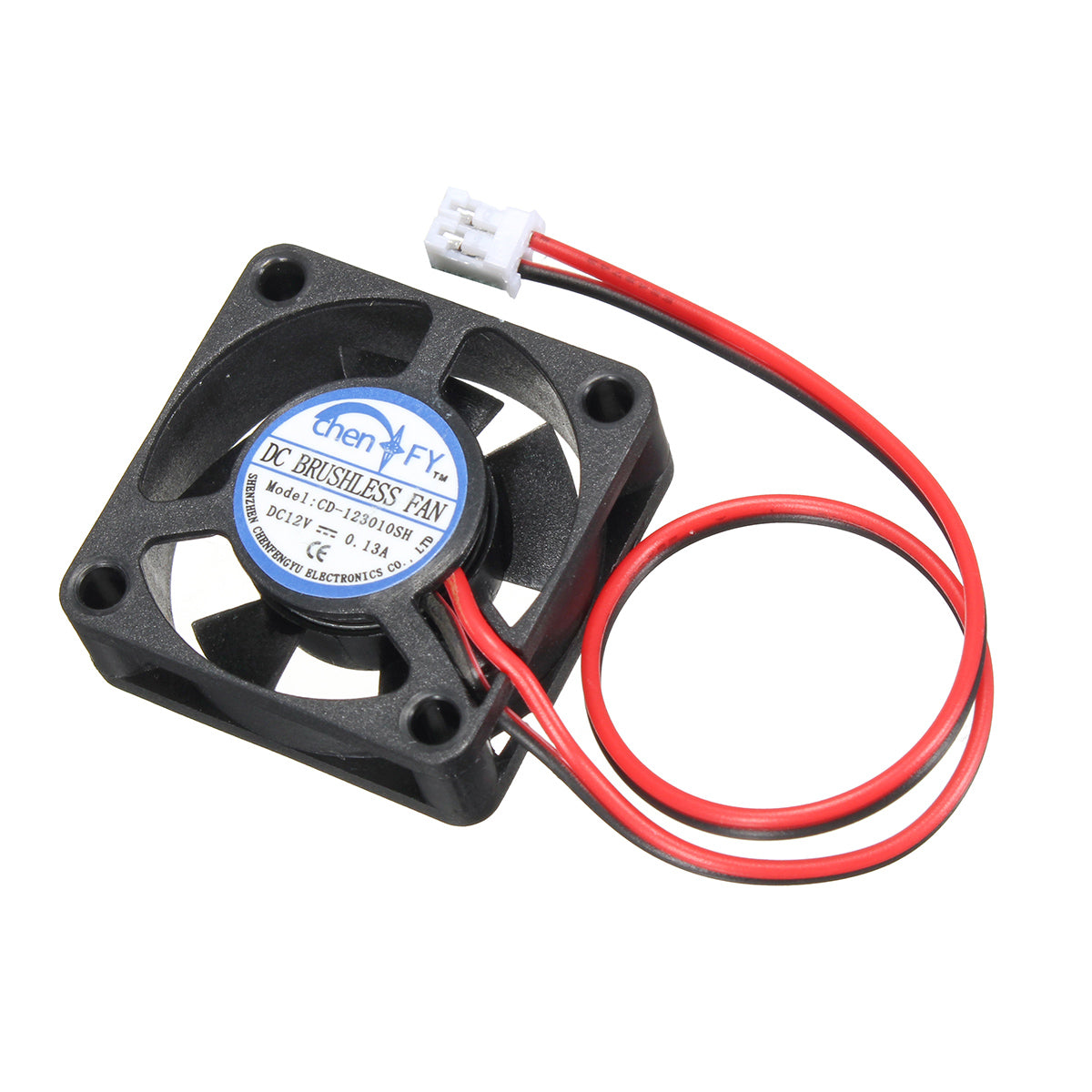 5Pcs 3010s 30*30*10mm 12V 2Pin DC Cooler Small Cooling Fan For 3D Printer