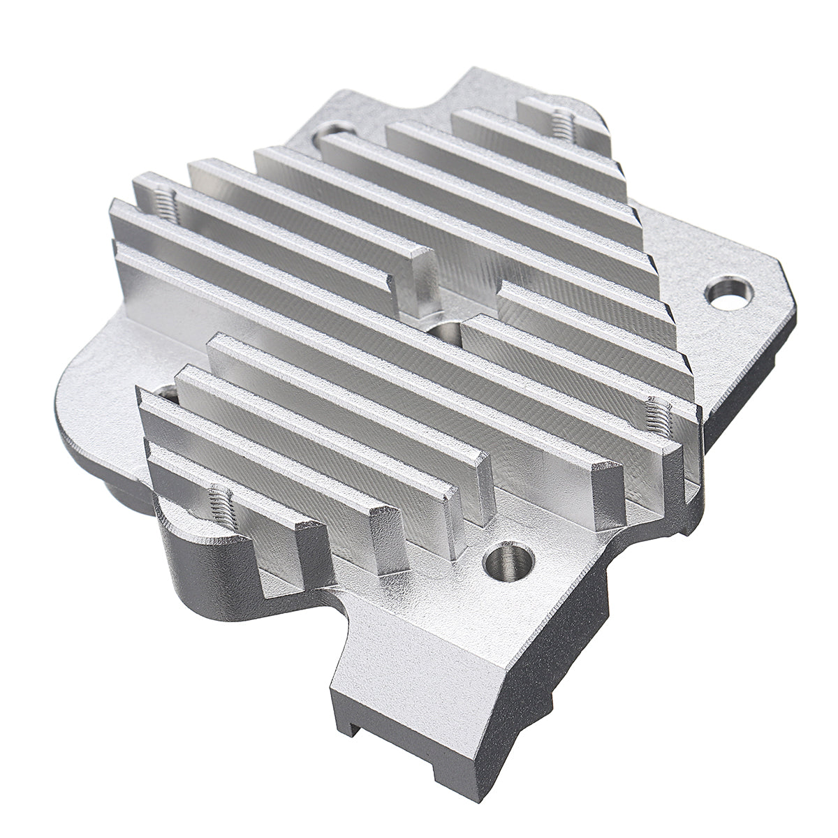 1.75mm/3.0mm Aluminum Alloy Titan Aero Heat Sink for 3D Printer Titan Extruder V6 Hotend